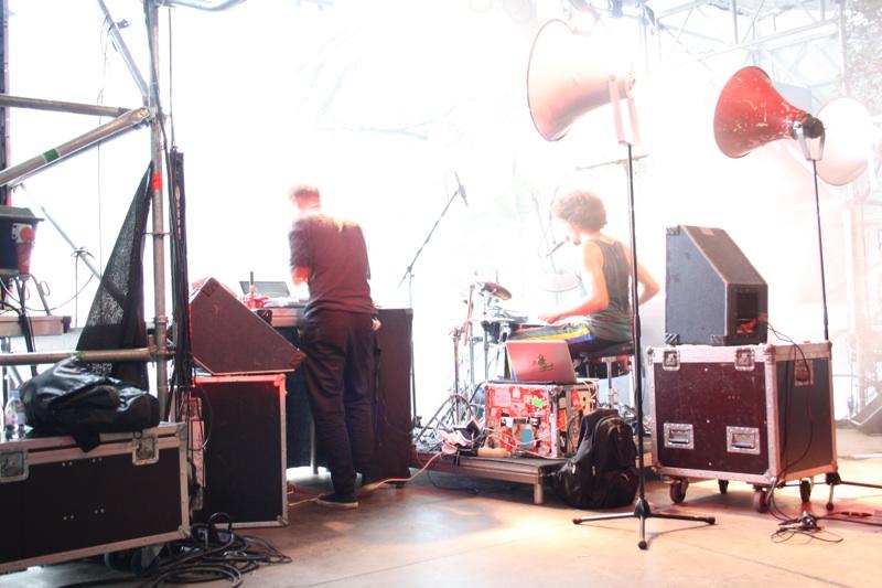 Bilder vom Open Source Festival 2012 in Düsseldorf