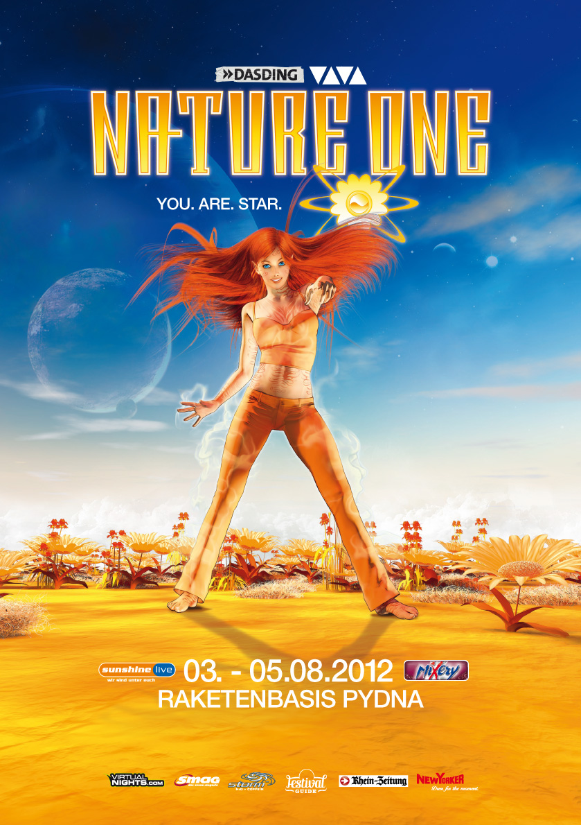 NATURE ONE 2012 – Der Timetable