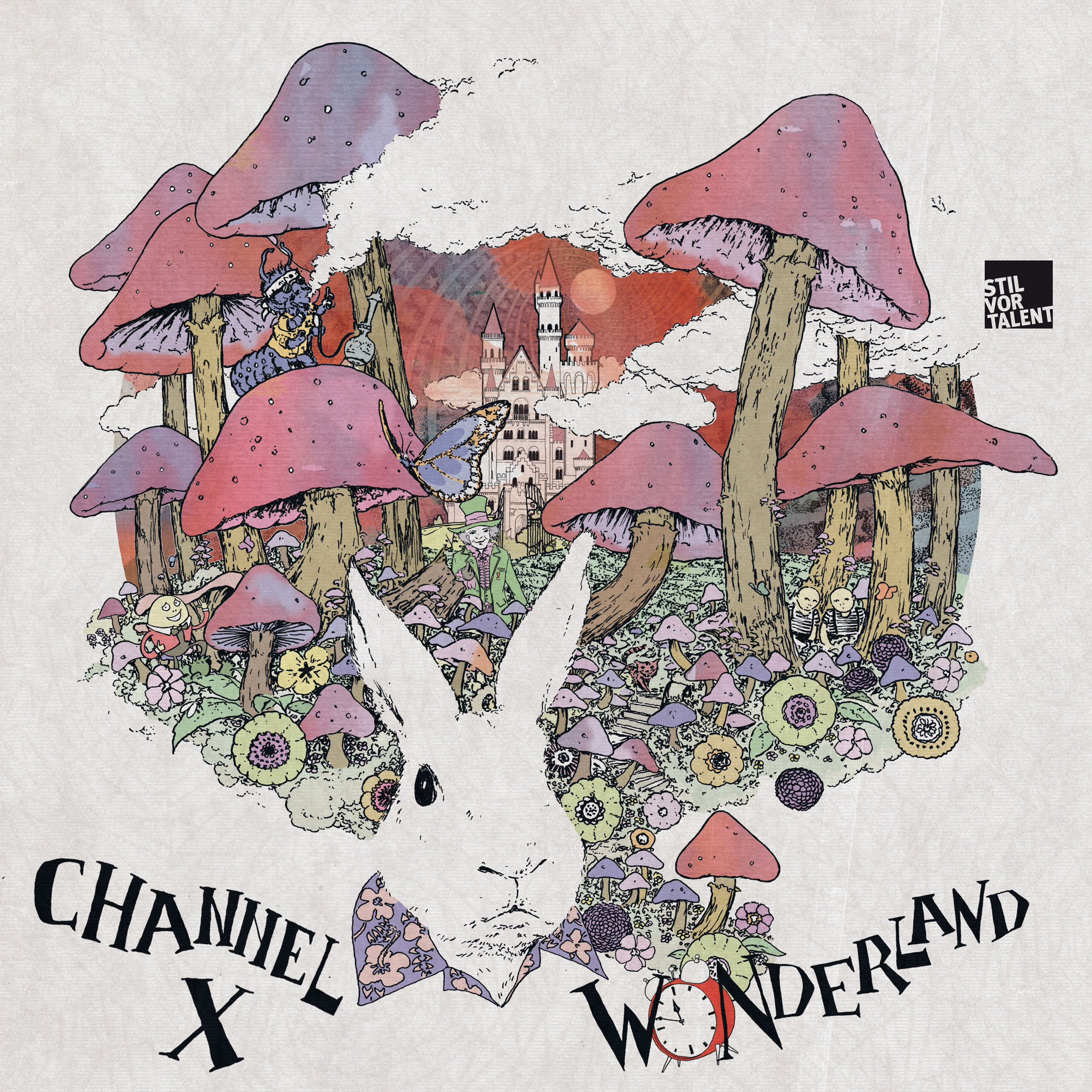 "Channel X laden uns in ihr ""Wonderland"" ein!"