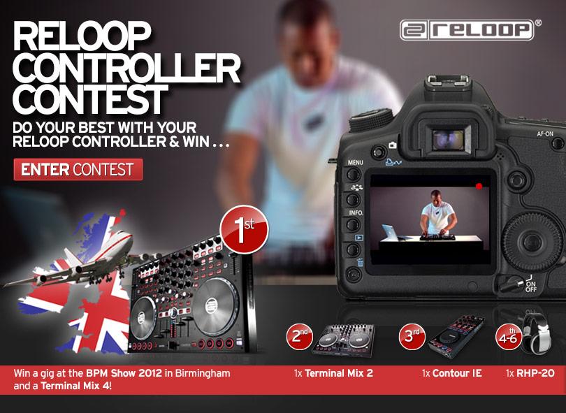 Mach mit beim Reloop Controller DJ-Contest