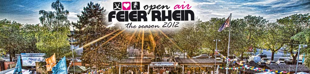 "Feier Rhein ""Day & Night Season Closing"" am 15. September 2012"