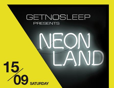 Get No Sleep Neonland am Samstag im Bootshaus – Gewinne Tickets!