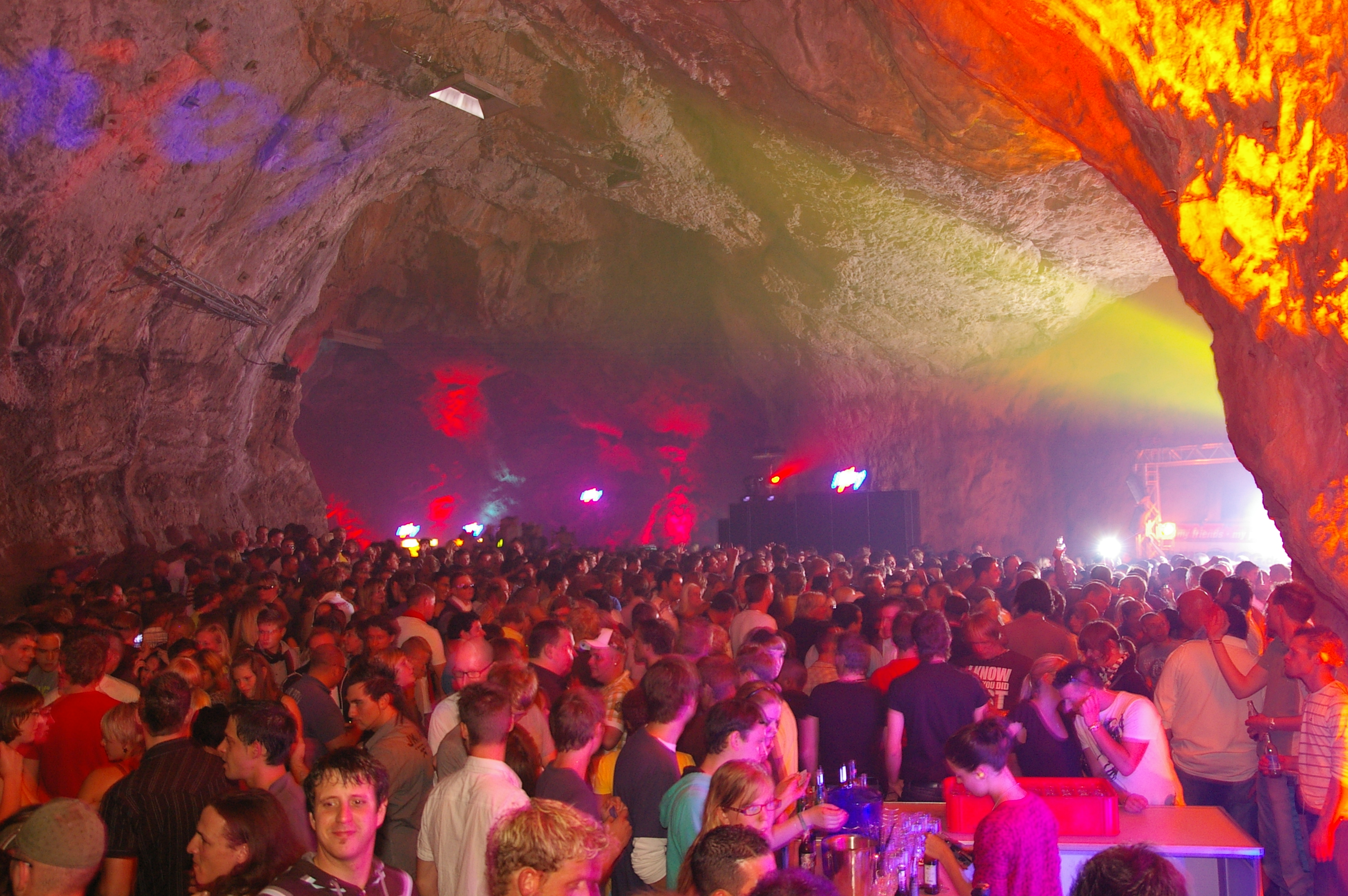 Samstag, 8. September 2012: ab zum Mixery Cave!