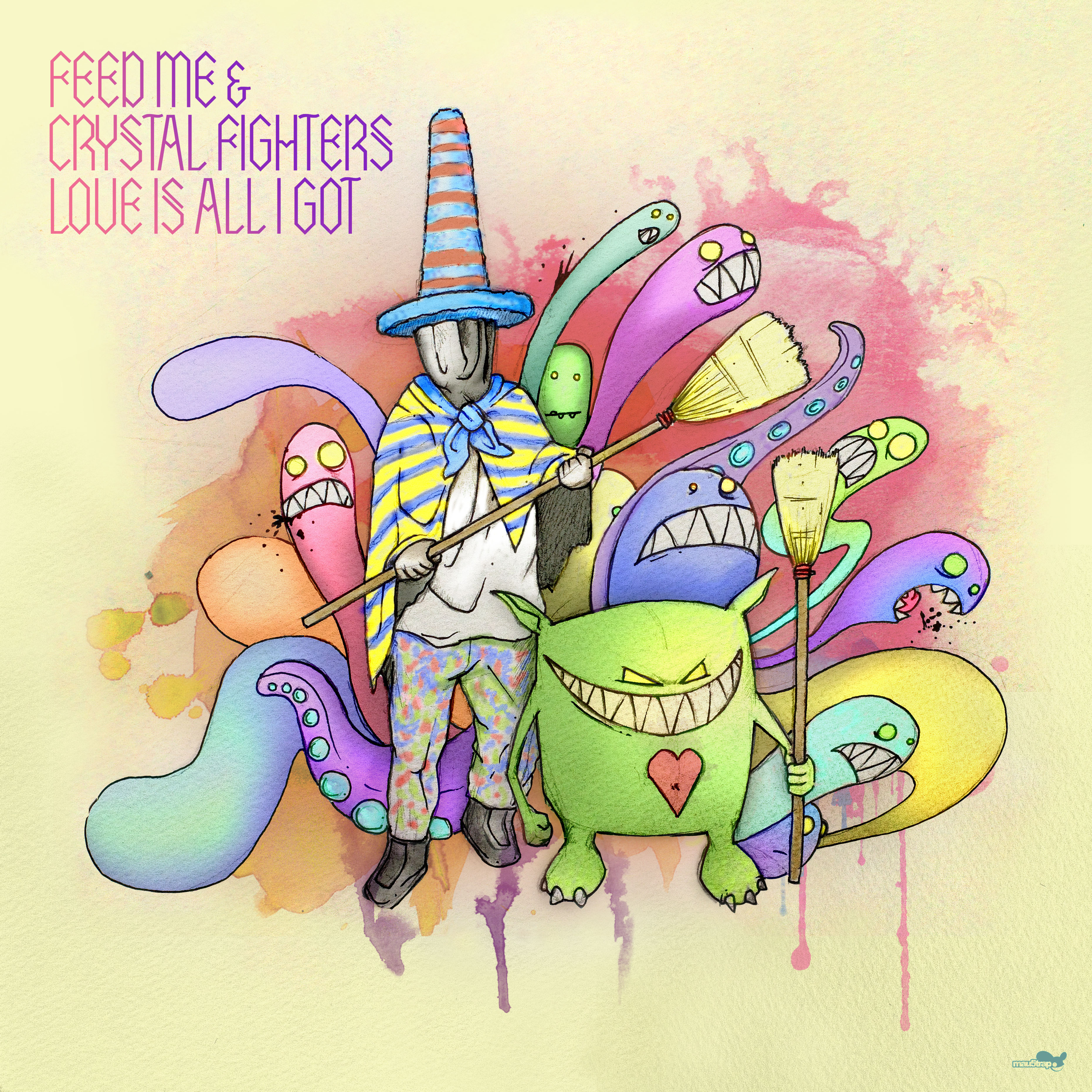 Dubstep trifft auf englisch-spanische Electronic-Band: FEED ME & Crystal Fighters