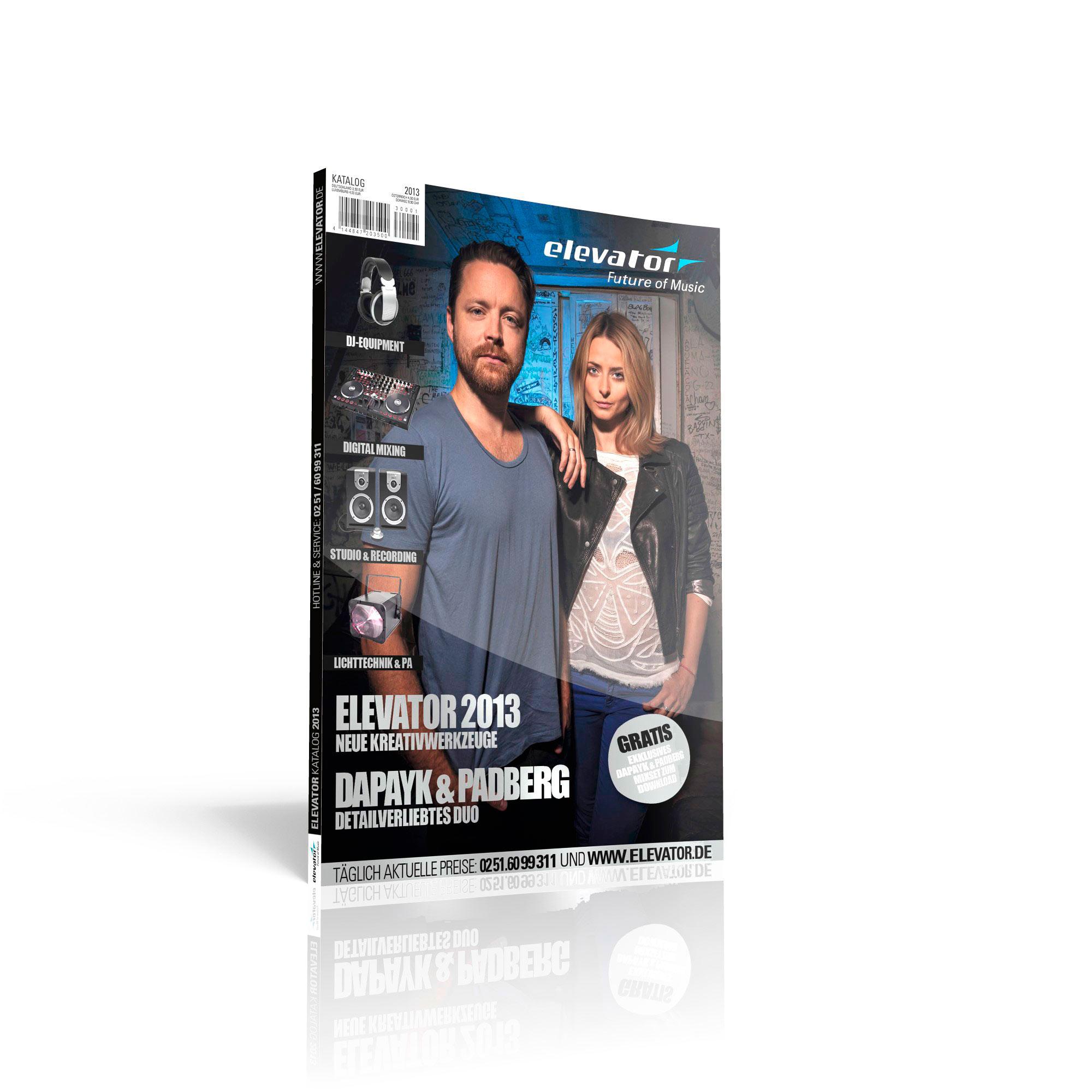 Ab heute gibt es den neuen Elevator-Katalog