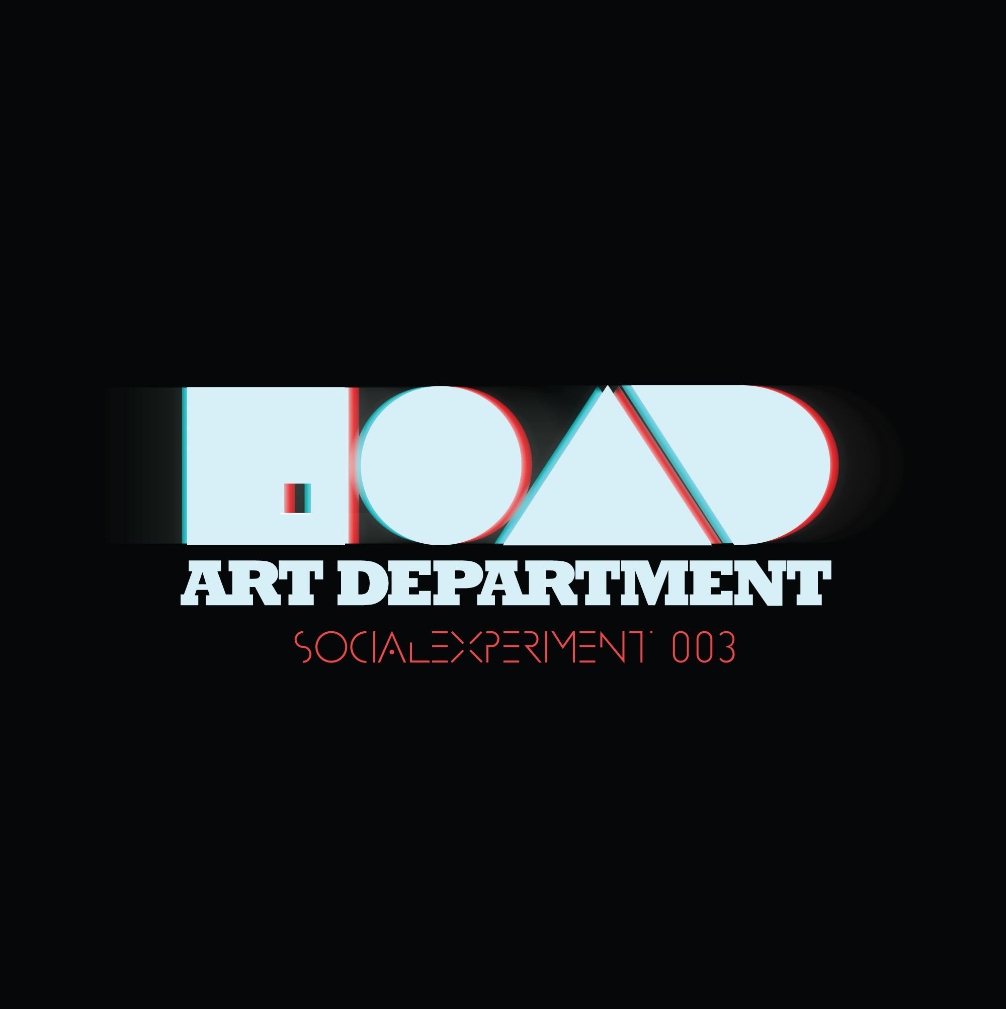 """Art Department mixen """"Social Experiment 003"""""""