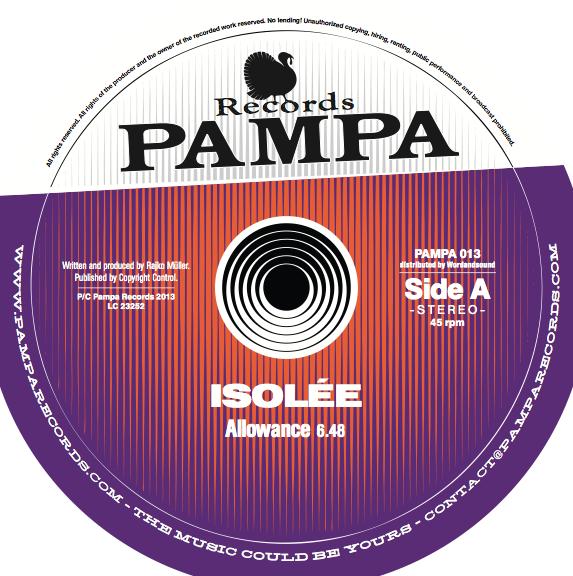 """Noch mehr Pampa: Isolée mit neuer Single """"Allowance"""""""