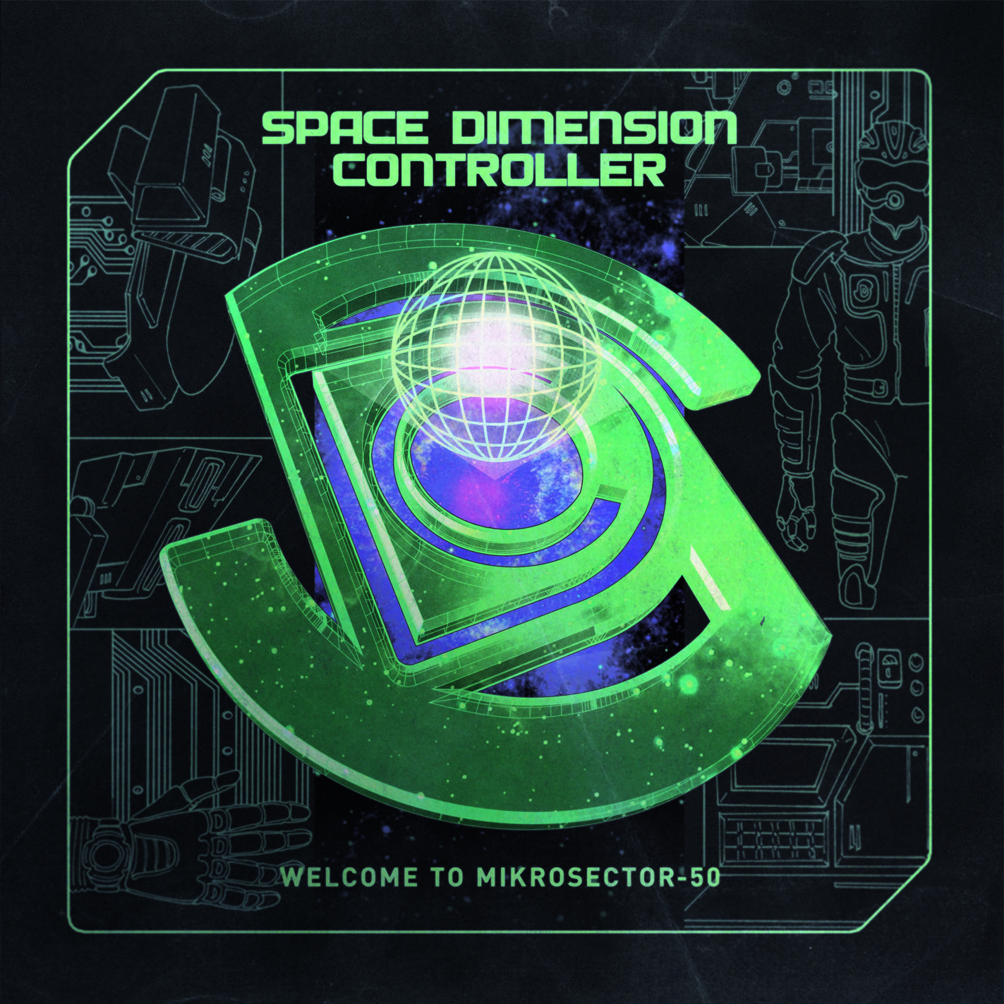 "Space Dimension Controller schickt ""Welcome To Microsector-50"" in den Orbit"