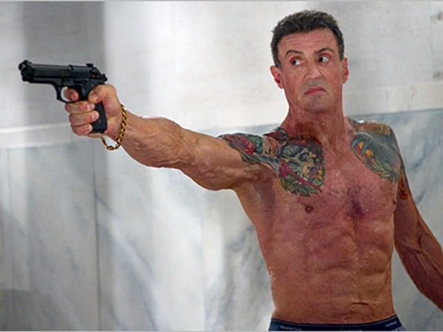 "Stallone is back with a ""Shootout"""