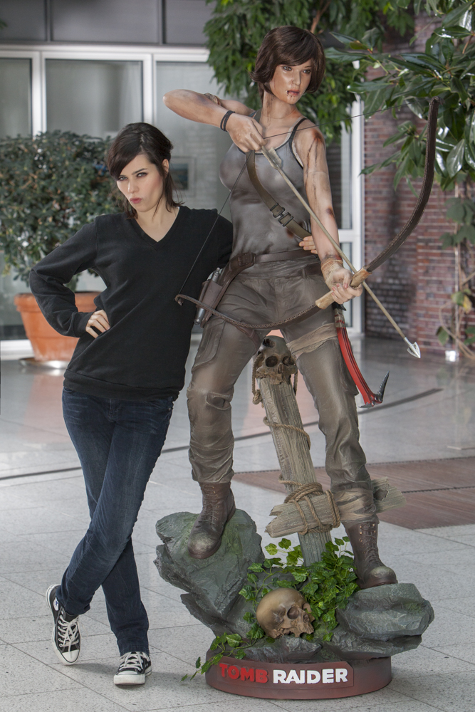 Gamer aufgepasst: Am 5. März erscheint das neue Tomb Raider-Abenteuer mit Nora Tschirner
