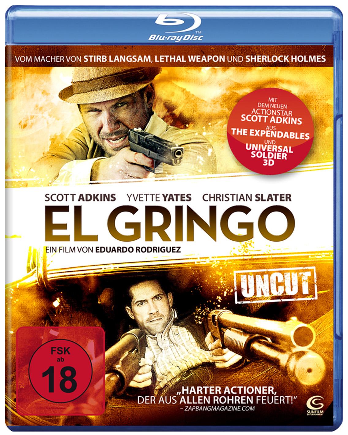 """DVD-Tipp der Woche: """"EL GRINGO"""" (Sunfilm) mit Scott Adkins"""