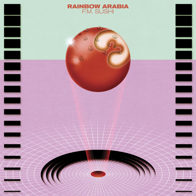 """Rainbow Arabia servieren """"F.M. Sushi"""""""