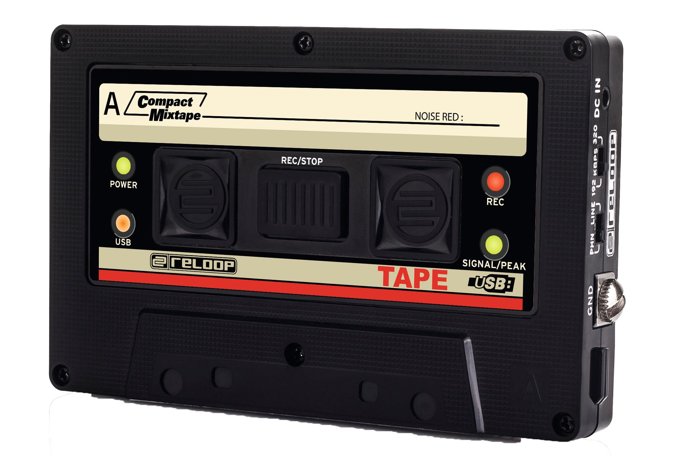 Reloop TAPE – Retrodigitale Aufnahmetechnik