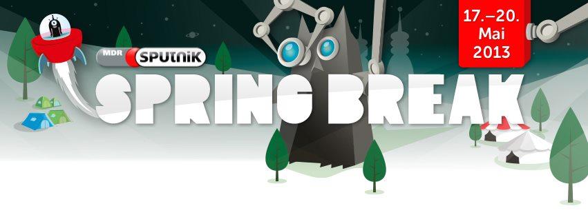 Sputnik Spring Break 2013: Das komplette LineUp steht!