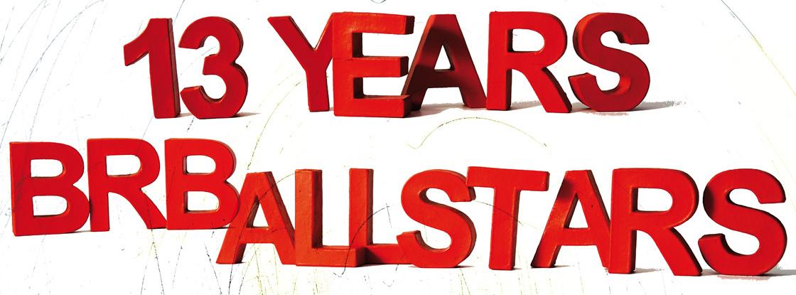 Jetzt schlägt's 13 – BRB Allstars feiern am 6. April Geburtstag