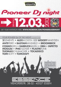 Pioneer DJ Night in Essen