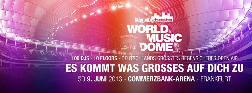 Freut euch auf den BigCityBeats World Music Dome mit David Guetta, Tiesto und Sven Väth