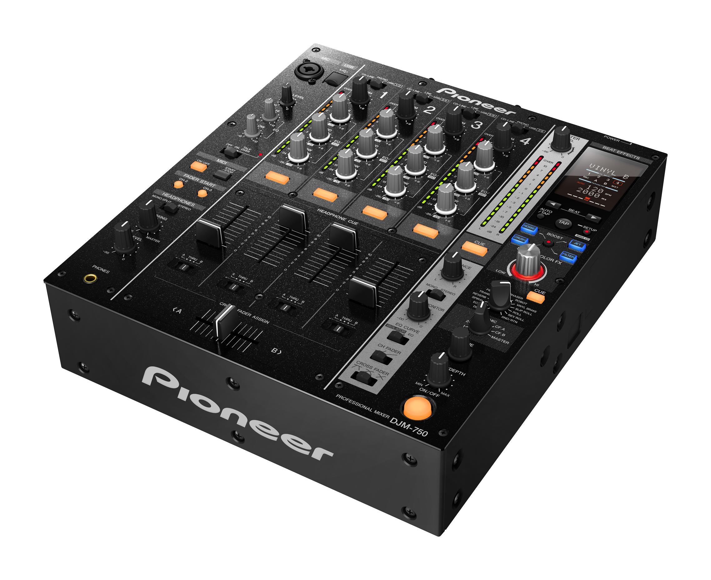 Pioneer präsentiert den DJM-750 auf der Musikmesse