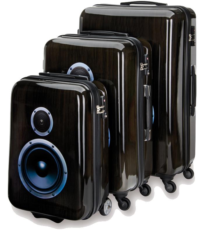 SUITSUIT Boombox  – Beat & Bass im Gepäck