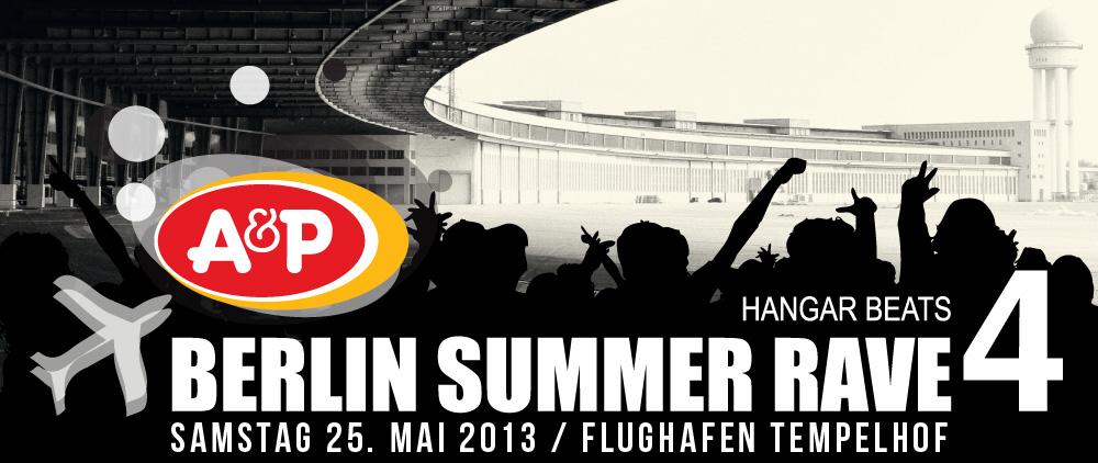 Berlin Summer Rave – hier ist der Timetable!