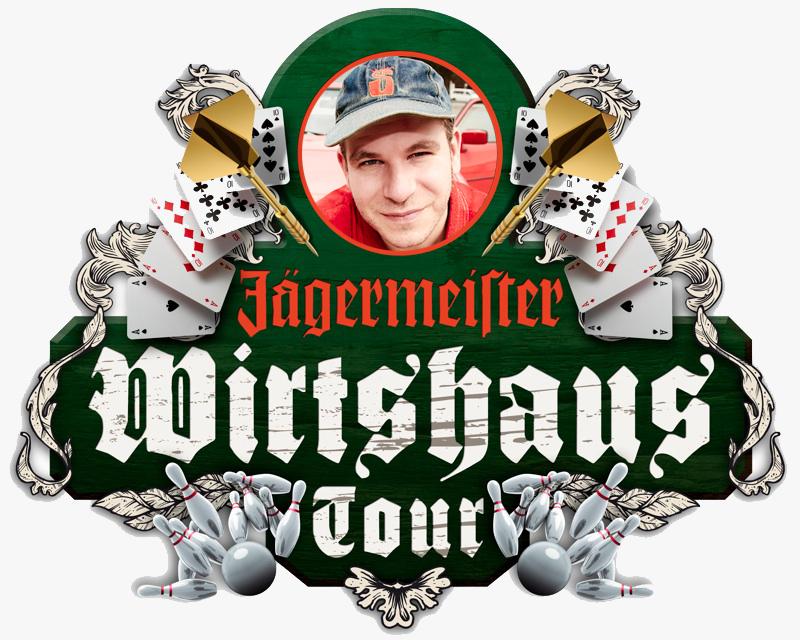 Die Jägermeister Wirtshaus Tour gastiert heute Abend in Berlin!