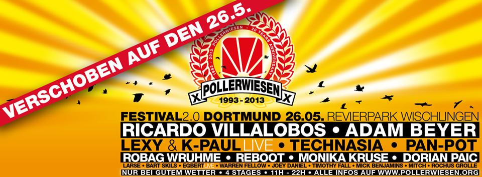 PollerWiesen Festival 2.0 in Dortmund auf den 26. Mai verschoben