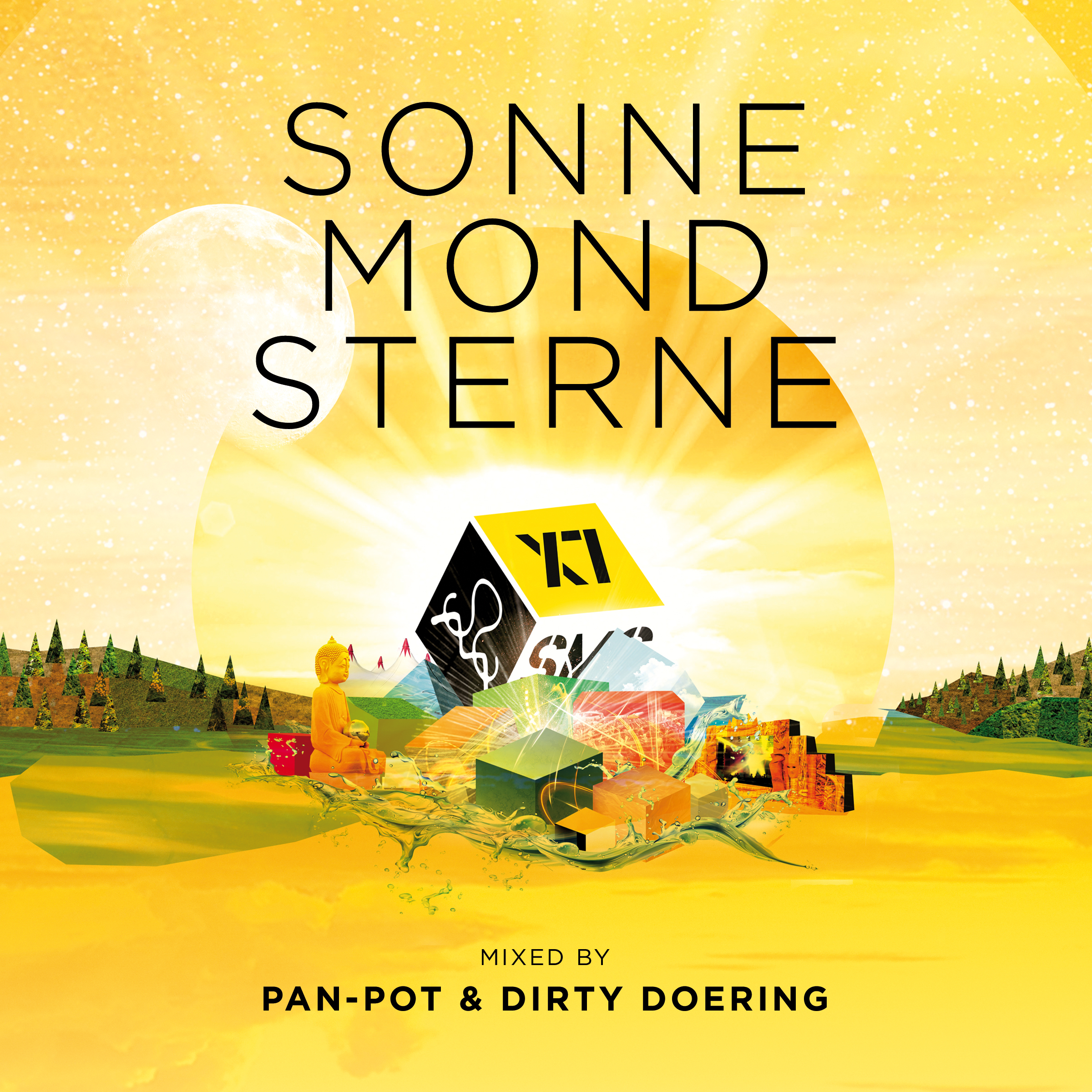 Pan-Pot & Dirty Doering mixen die neue SonneMondSterne-Compilation