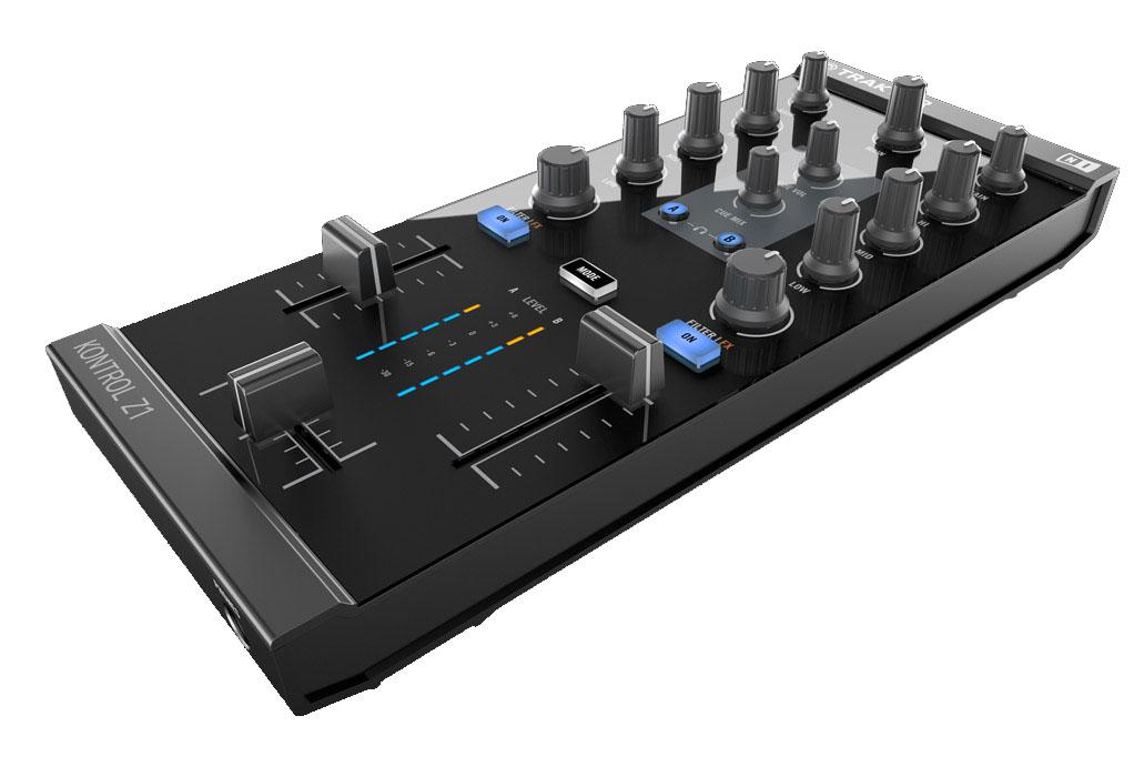 Native Instruments veröffentlicht den Kompaktmixer Kontrol Z1