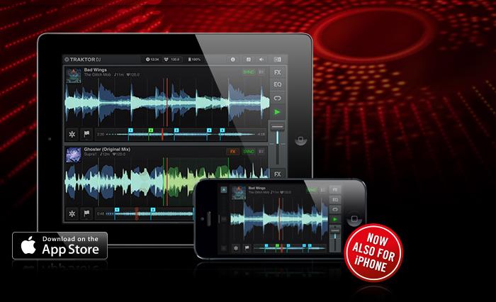TRAKTOR DJ für iPad & iPhone zur Zeit GRATIS im Apple App-Store