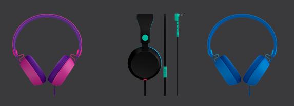 Coloud Headphones – Bunte Hunde