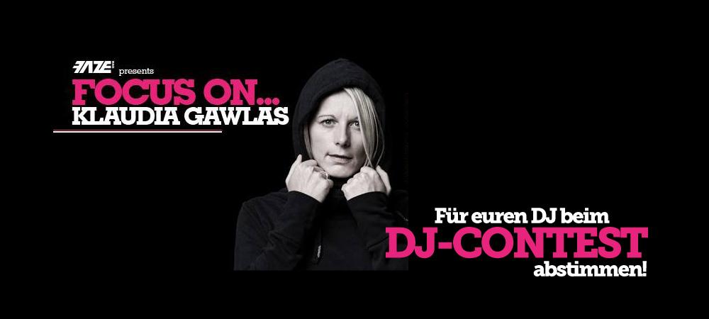 Focus On… Klaudia Gawlas – Voting für den DJ-Contest startet!