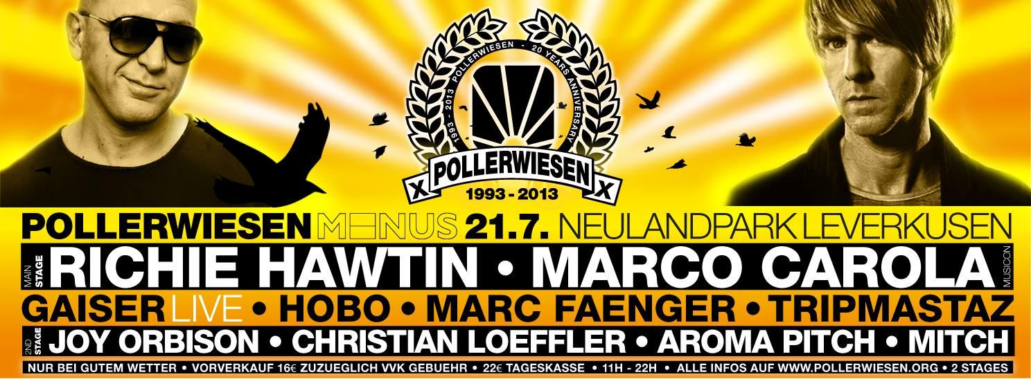 Mit Richie Hawtin im Neulandpark feiern – Pollerwiesen Minus