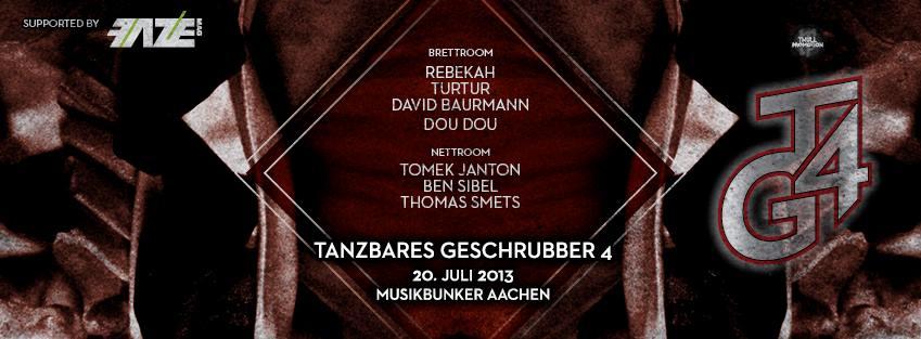 Der Musikbunker Aachen wird zum Technotempel – Tanzbares Geschrubber