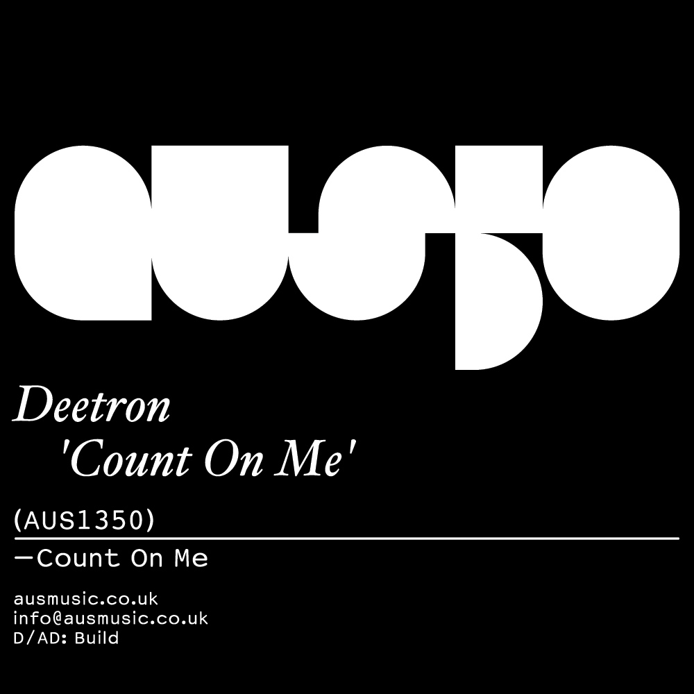 Aus Music feiert Release #50: Deetron – Count On Me