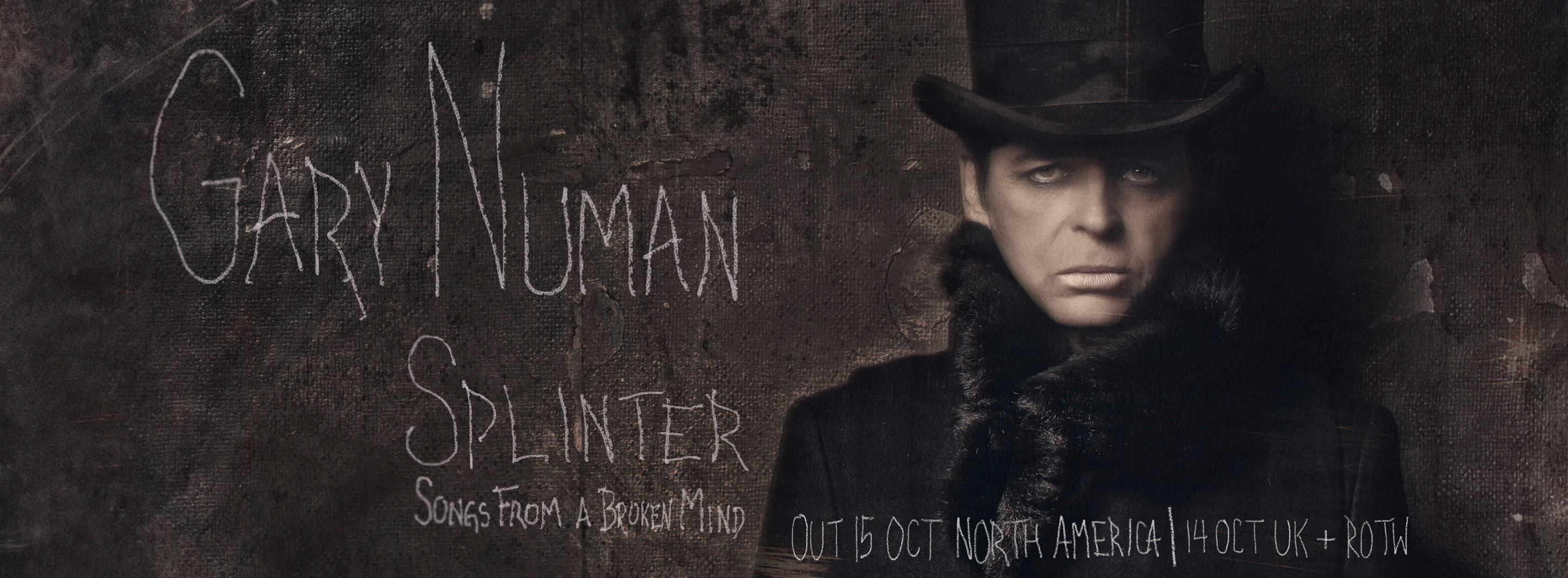 """Gary Numan veröffentlicht neues Album """"Splinter"""""""