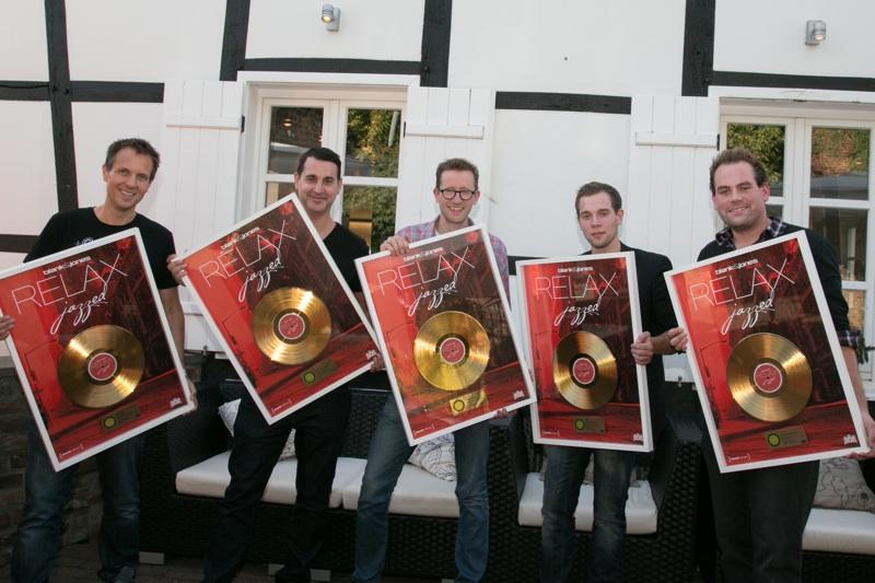 """Gold für Blank & Jones und die Wasserfuhr-Brüder: """"Relax – jazzed"""""""