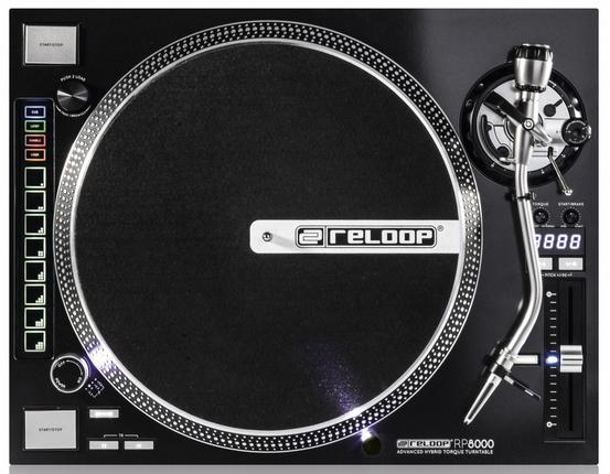 Reloop präsentiert neuen Plattenspieler RP-8000