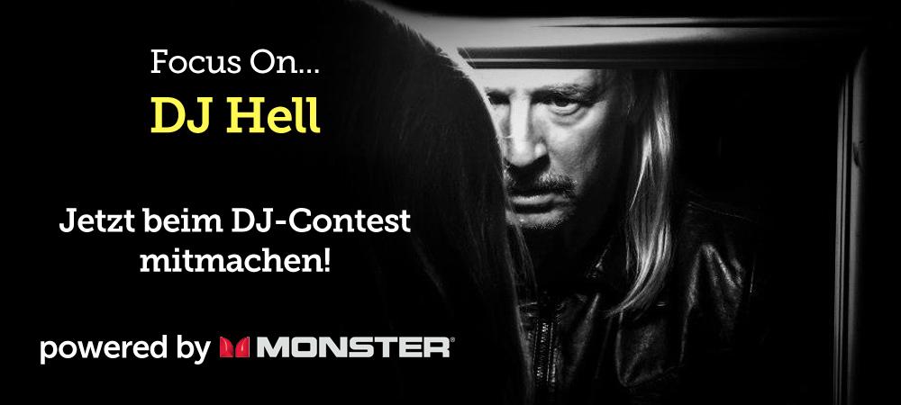 Focus On… DJ Hell – Jetzt beim DJ-Contest mitmachen!