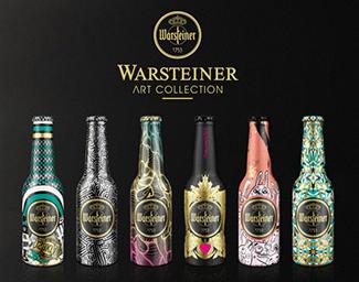 Warsteiner Art Collection – gestalte deine Flasche!