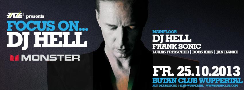DJ-Contest powered by Monster: Focus On… DJ Hell – Jetzt für euren DJ abstimmen!