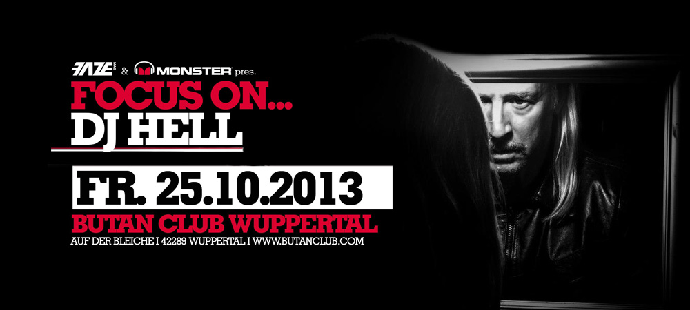 DJ-Contest powered by Monster: Focus On… DJ Hell – Wir haben unsere Gewinner