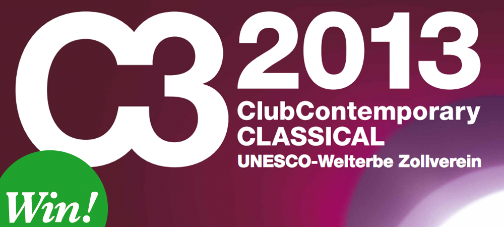 C3 Festival im Zollverein Essen – Club Contemprary Classical