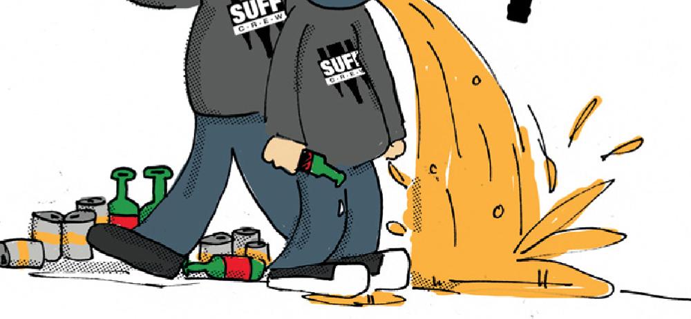 Gubis eher nicht so dolle DJ-Karikaturen: Snuff Crew
