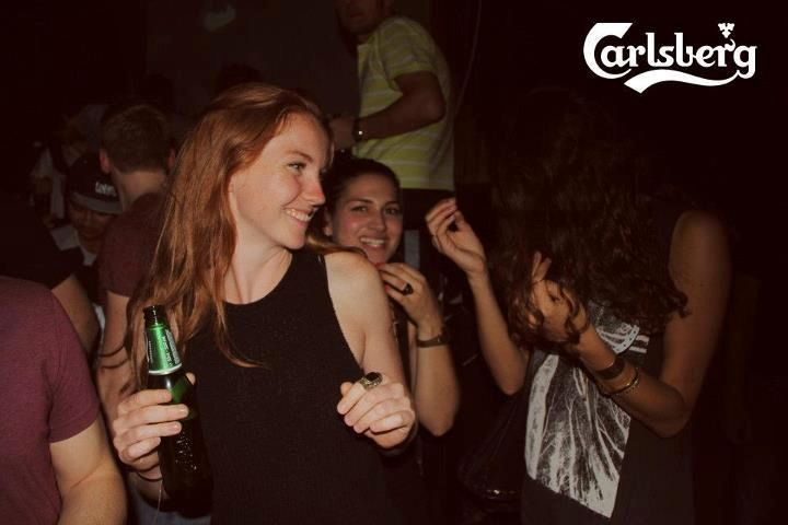 "Die ""Carlsberg Support Your Local Deejays""-Party gastiert im Club Marx, Café Moskau in Berlin"