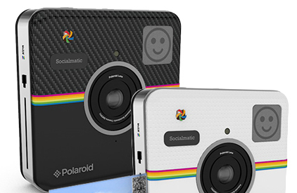 """Polaroid kündigt """"Socialmatic""""-Kamera an"""