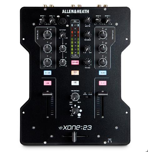 Allen&Heath stellt DJ Mixer XONE:23 und Digitalmischpult Qu-24 vor