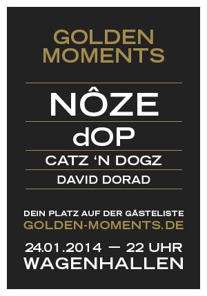 """""""Golden Moments"""" am Freitag in Stuttgart mit Nôze und dOP"""