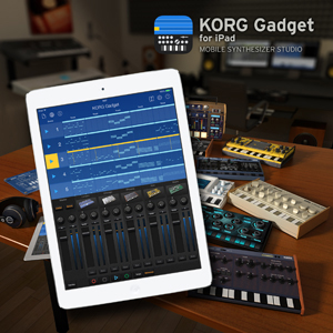 KORG Gadget – Mobile Synthesizer Studio für das iPad