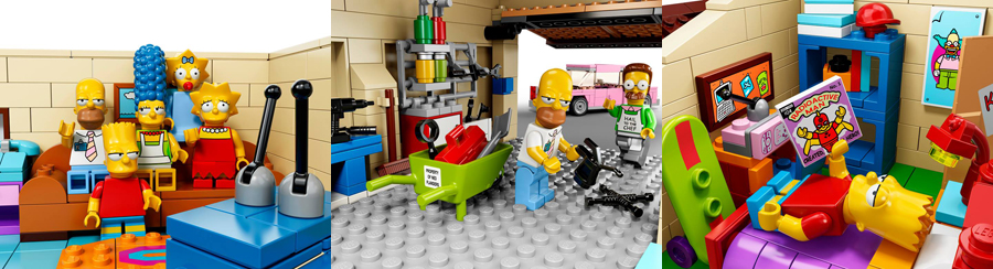 The Simpsons & LEGO: ab Februar am Start!