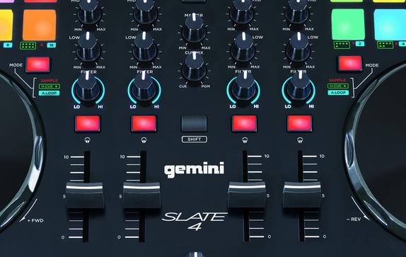 Gemini präsentiert Virtual DJ Controller Slate4 & Slate2